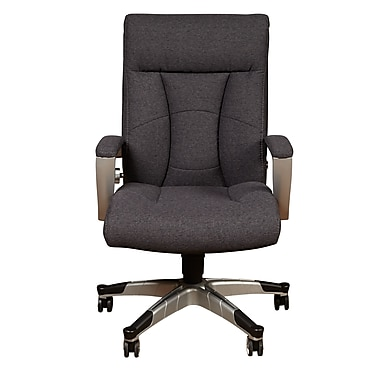 Sealy Santana Fabric Executive Chair Fixed Arms Gray G