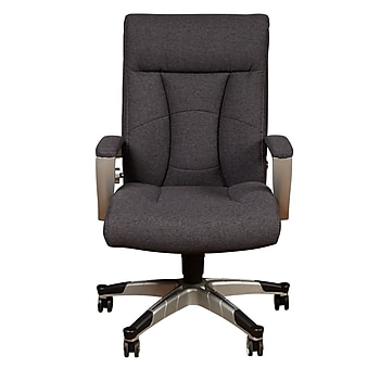 Sealy Santana Fabric Executive Chair (Gray)