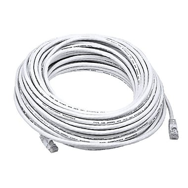 Monoprice® 75' 24AWG Cat6 UTP Ethernet Network Cable, White