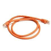 Monoprice 103413 3' CAT-6 Ethernet Network Cable, Orange