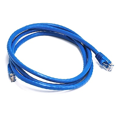 Monoprice 103427 5' CAT-6 Ethernet Network Cable, Blue