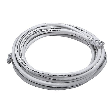 Monoprice® 14' 24AWG Cat6 UTP Ethernet Network Cable, White