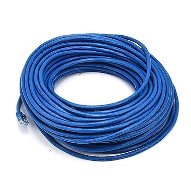 Monoprice 102119 100' 24-AWG CAT-6 UTP Ethernet Network Cable, Blue