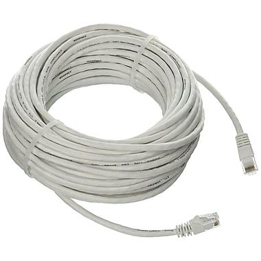 Monoprice® 50' 24AWG Cat5e UTP Ethernet Network Cable, White