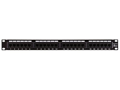 Monoprice® 24 Ports Cat6 110 Type Patch Panel