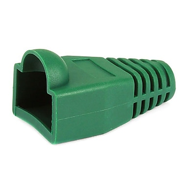 Monoprice® RJ-45 Color Coded Strain Relief Boot, Green