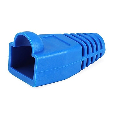 Monoprice® RJ-45 Color Coded Strain Relief Boot, Blue