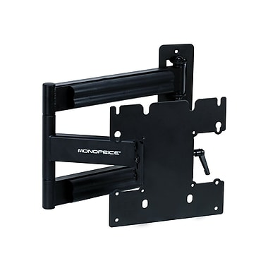 Monoprice® 105921 Adjustable Tilting/Swiveling Wall Mount Bracket F/23