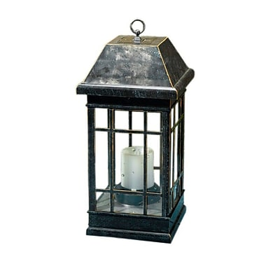 Smart Solar 3960KR1 San Rafael II Table Top Solar Mission Lantern