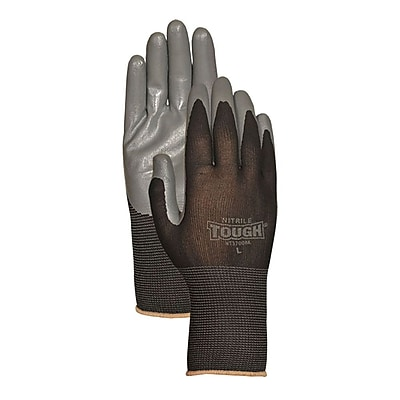Bellingham Glove NT3700BKM Black Nitrile, Medium