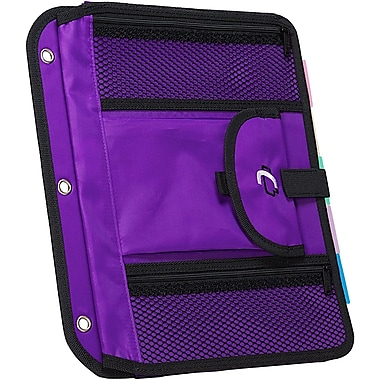 Case It ACC-21 5-TAB Expanding File, Purple