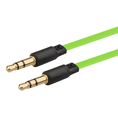 Insten® 3.3' 3.5mm M/M Stereo Extension Cable, Green
