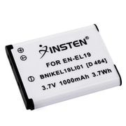 Insten® 3.7 VDC 1000mAh Rechargeable Li-ion Battery For Nikon EN-EL19(392615)