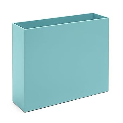 Poppin Aqua File Box