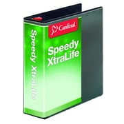 Cardinal Speedy XtraLife 3-Inch Slant D 3-Ring Binder, Black (59131)