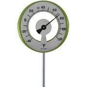 La Crosse 101-1523 Lollipop Outdoor Garden Thermometer - Green