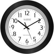 La Crosse Technology 404-1225 10 Inch Analog Atomic Black frame clock