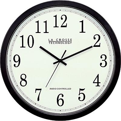 La Crosse Technology WT3143A 14 Inch Atomic Analog Wall Clock