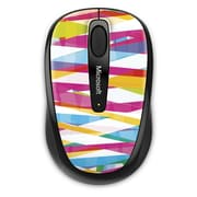 Microsoft Wireless Mobile Mouse 3500, BlueTrack USB Wireless Mouse, Bandage Pattern (GMF-00403)