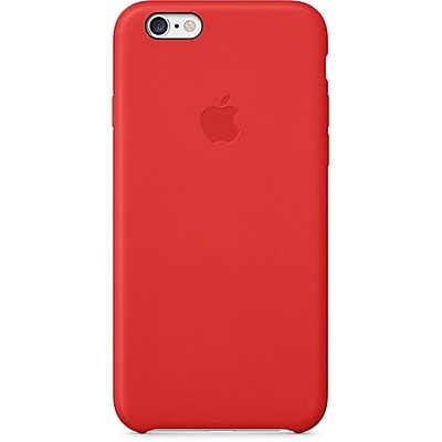 Apple® iPhone® 6 Leather Case, Red