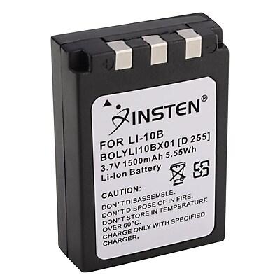 Insten® 290806 2-Piece DV Battery Bundle For Olympus Li-10B/Li-12B/DB-L10