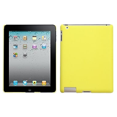 Insten® Back Rubberized Protector Cover For iPad 2/3/4, Yellow