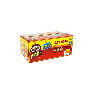 Pringles® Snack Stack Variety Pack .67oz Cups, 36 Cups/Box