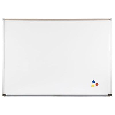 Best-Rite Deluxe 4' x 10' Porcelain Steel Whiteboard (202AK-25)