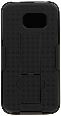i-Blason Samsung Galaxy S6 Case ,Transformer Slim Hard Shell Holster Case, Black
