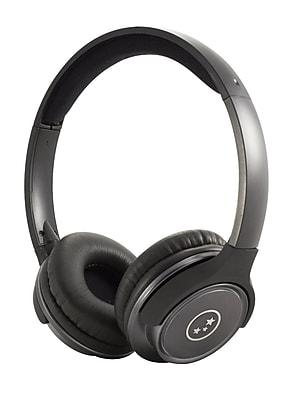 Able Planet SH190GMM Travelers Choice Stereo Headphones Gunmetal