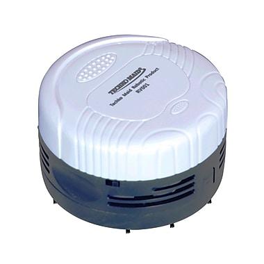Techko Maid® RV001 Desk and Table Top Hand-Held Vacuum, White