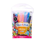 Paper Mate InkJoy 100 Mini Capped Ballpoint Ink Pens, 1.0 mm, Assorted Colors, 16/Pk (1927828)