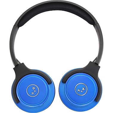 Ableplanet Travelers Choice Stereo Headphones, Blue