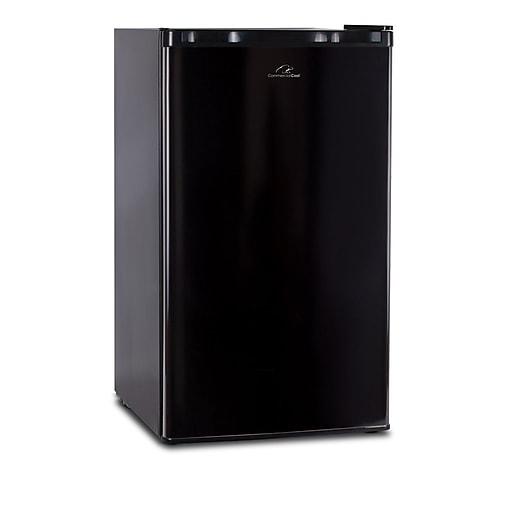 Commercial Cool 3.2 Cubic Feet Refrigerator/Freezer Black