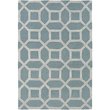Artistic Weavers Arise Evie Hand-Tufted Blue/Gray Area Rug; Round 8'