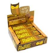 AWAKE Caffeinated Caramel Bars, 12 CT