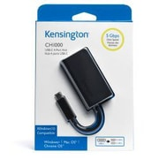 Kensington - Concentrateur à 4 ports USB type C, UC3100