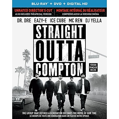 Straight Outta Compton (Blu-Ray/DVD)