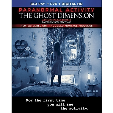 Paranormal Activity: The Ghost Dimension (Blu-Ray/DVD)