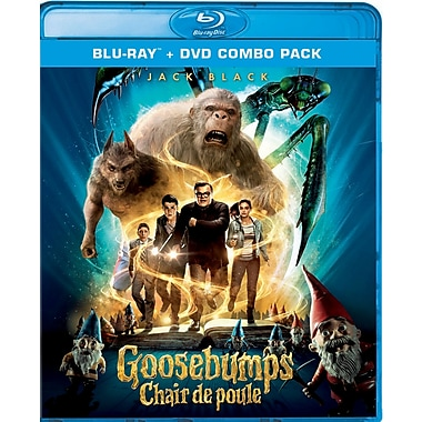 Goosebumps (Blu-Ray/DVD)