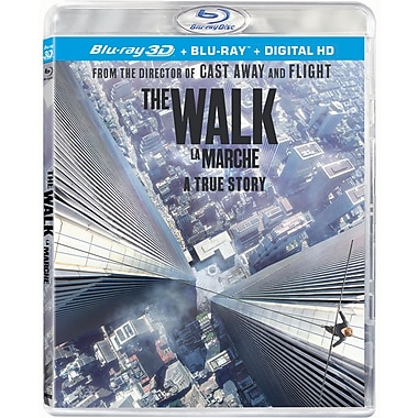 The Walk (3D Blu-Ray/Blu-Ray)