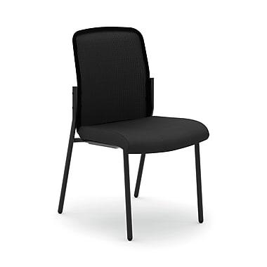HONMD – Chaise d'invité polyvalente et empilable VL508 collection basyx, dossier en filet, sans accoudoirs