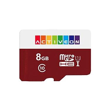 8GB SD Card for Activeon Action Camera