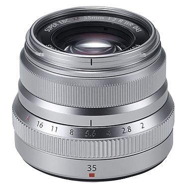 Fujinon 600015905 Lens XF35MM F2 R WR, Silver