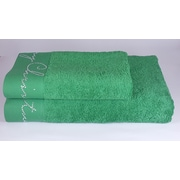 Enchante Home Christmas Decorative 2 Piece Towel Set; Green