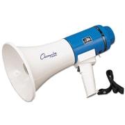 Champion Sports Megaphone, 12-25w, 1000 Yard Range, White/blue