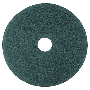 3M Low-Speed High Productivity Floor Pads 5300, 14-Inch, Blue, 5/carton