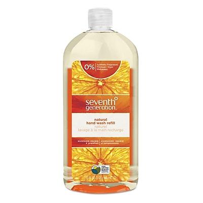 Seventh Generation™ Natural Hand Wash Soap, Mandarin Orange & Grapefruit, 32 Oz Refill Bottle (22944)