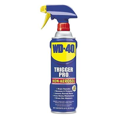 WD-40® Trigger Pro Lubricant, 20 Oz Non-Aerosol Can, 12 Carton
