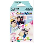 Fujifilm Instax Mini Film Party Pack Stained Glass & Candy Pop